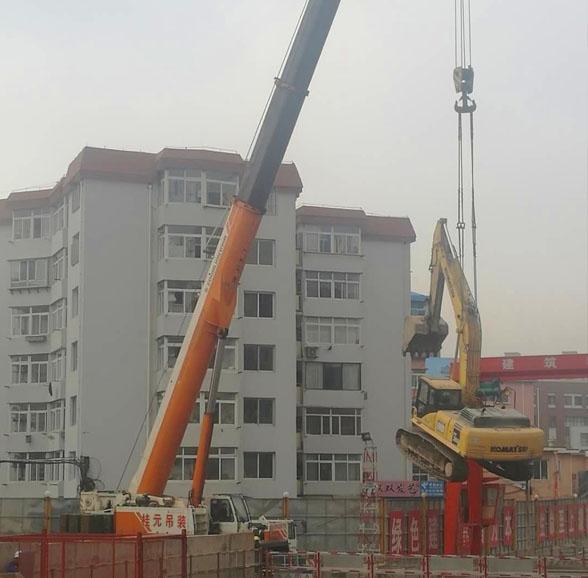 大连挖掘机租赁公司