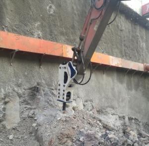 大连挖掘机油锤租赁